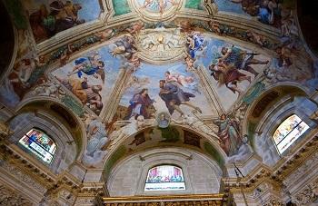 Потолок Кафедрального собора